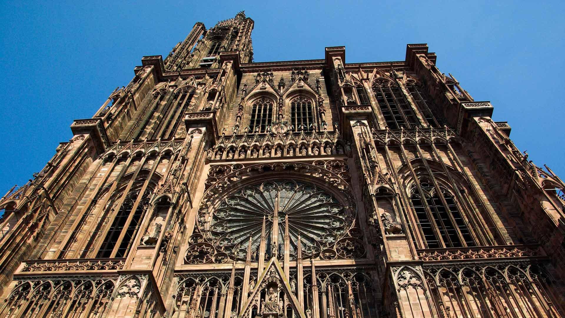 De magnifieke kathedraal van Straatsburg.