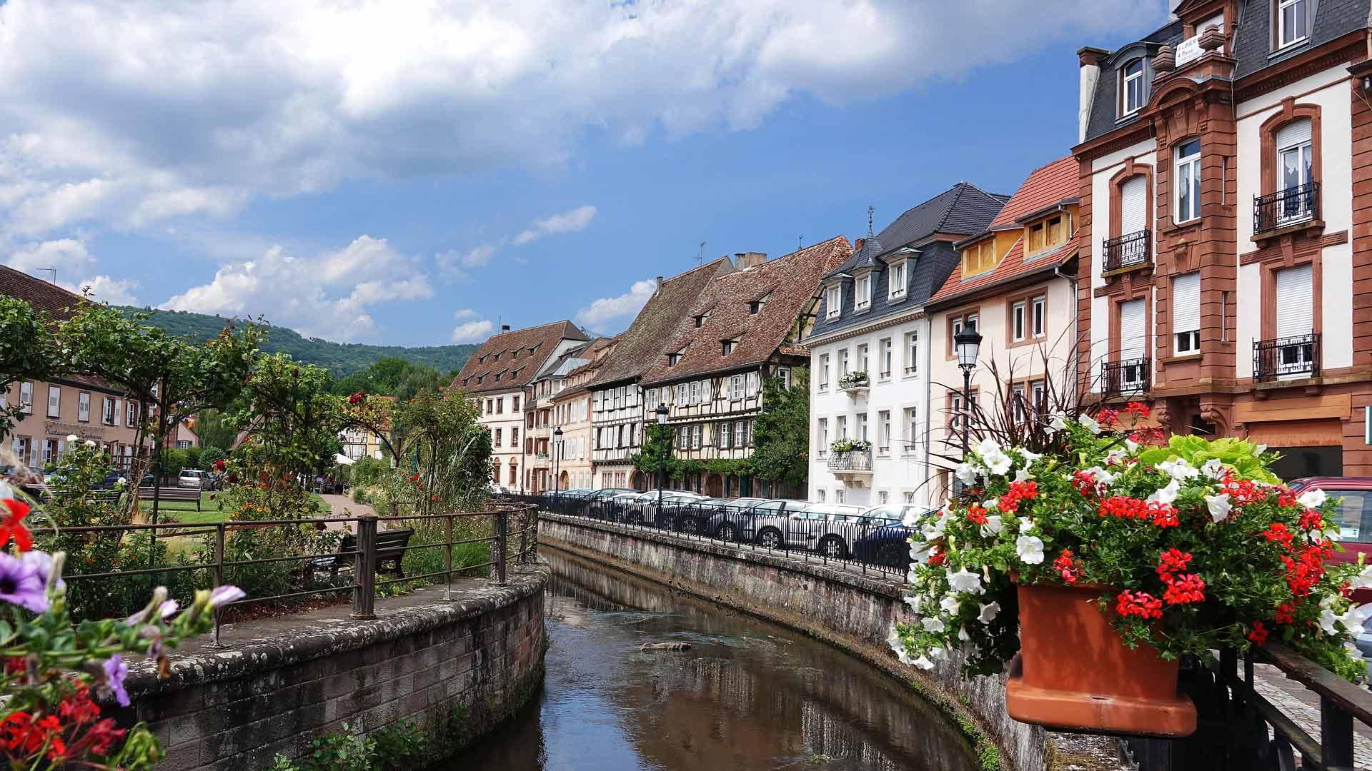 Wissembourg in de Elzas.