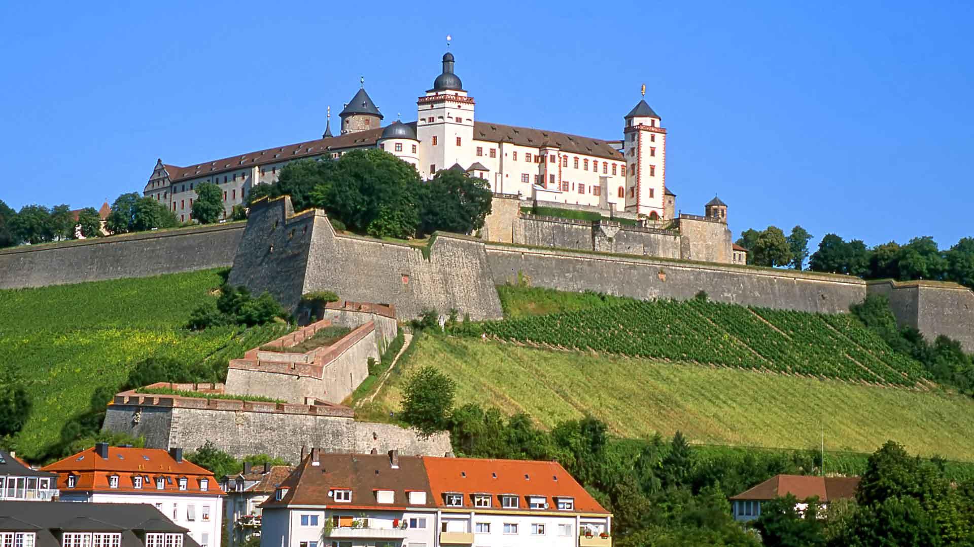 De Marienvesting in Würzburg