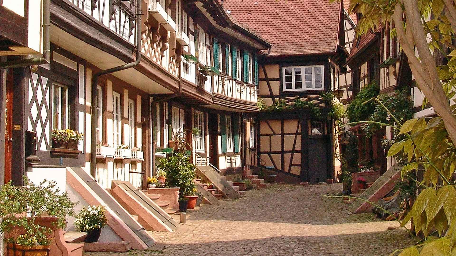Het pittoreske plaatsje Gengenbach in het Zwarte Woud.